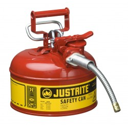 Flammable Liquid Safety Can - Justrite Type 2 - 4  litre - 7210120Z