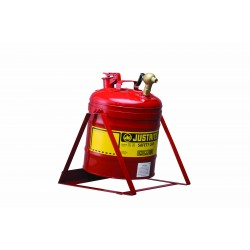 Justrite Laboratory Safety Can With Stand 19 litre with control tap 08540  -7150146