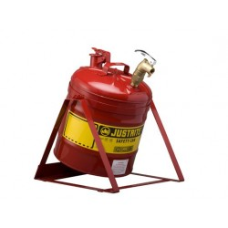 Laboratory Safety Can With Stand 19 litre Justrite with rigid tap 08902  -7150156