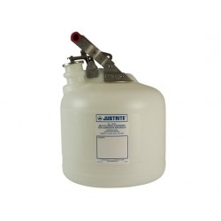 9.5 Litre Justrite Corrosive Waste Safety Can -12260