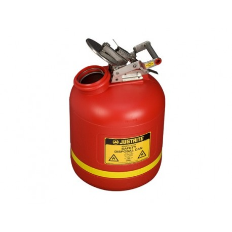 Justrite Liquid Disposal Safety Can 19 Litre 14765Z