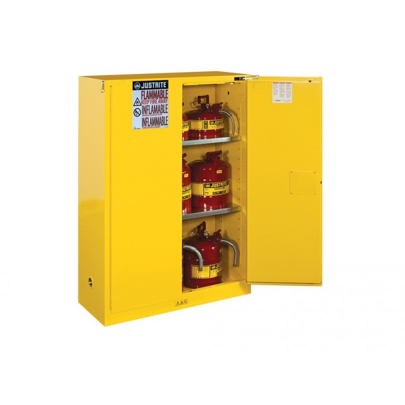 Justrite Fm Approved Flammable Liquids Cabinet Manual