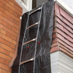 EasyScape Fire Escape Ladder  4.3 Metres (14ft)