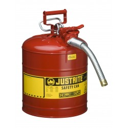 Flammable Liquid Safety Can - Justrite Type 2 - 19  litre -7250130Z