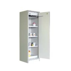 EN 14470-1 Compliant 90 minute rated Flammable Liquids Cabinet single door 1960mm high