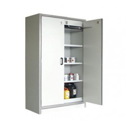 EN 14470-1 Compliant 90 minute rated Flammable Liquids Cabinet 2 door 1960mm high