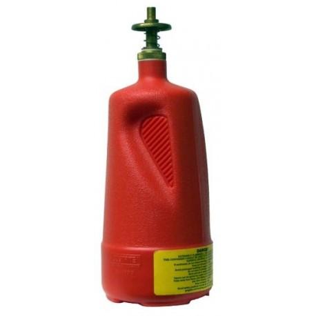 1 litre dispensing bottle for dispensing flammable liquids- 14010