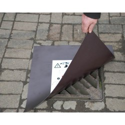 Magnetic drain cover x10