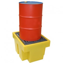 Drum Spill Pallet for 1 x 205ltr drum