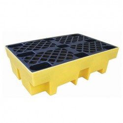 Drum Spill Pallet for 2 x 205ltr drums