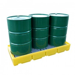 Drum Spill Pallet for 3 x 205ltr drums