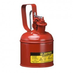 Flammable Liquid Safety Can - Justrite Type 1 - 1  litre 10101Z