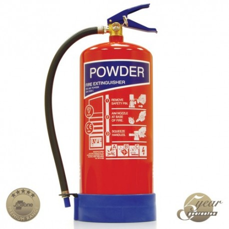 9kg ABC Powder Fire Extinguisher - Premium Range