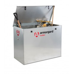 Armorgard Toolbin, Galvanised Storage box 1190 × 585 × 850mm
