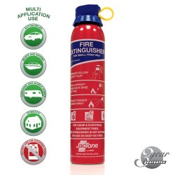Aerosol BC Powder Fire Extinguisher 600g