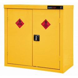 Safestor Hazardous Floor Cupboard 900x465x900mm