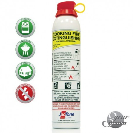 Aerosol Cooking Foam Fire Extinguisher 600ml