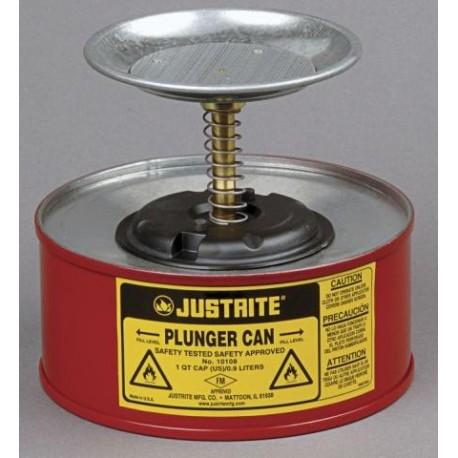 1 Litre Plunger Can for dispensing flammable liquids Bulk Buy deal x 3