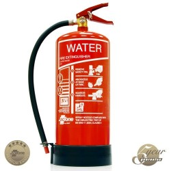 Water Fire Extinguisher - Premium range - 6 litre