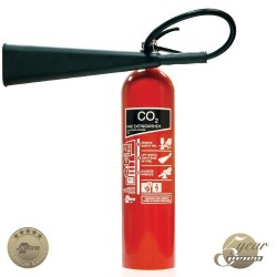 5kg CO2 Fire Extinguisher - Premium Range