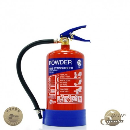4kg Marine Directive Certified Powder Fire Extinguisher