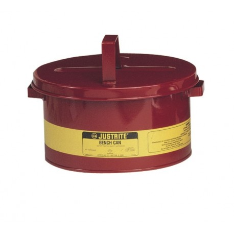 Justrite 8 litre Bench Can -10575