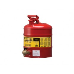 Justrite Laboratory Safety Can 19 litre with rigid tap 08540 -7150140