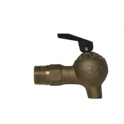 FM Approved Control Flow Laboratory Safety Tap