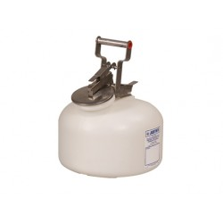 7.5 Litre Justrite Corrosive Waste Safety Can -12762