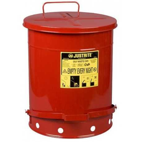 Solvent Or Flammable Waste Container Foot Operated Bin