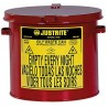 Solvent or Flammable waste container table top style - 8 Litre Justrite 09200