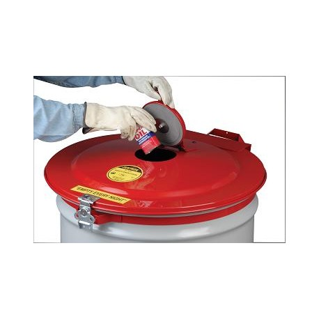 205 Litre Drum Vapour Trap Lid to convert to a Flammable waste bin-26754