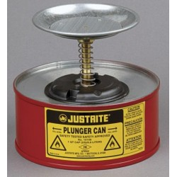 1 Litre Plunger Can for flammable liquids - Justrite 10108