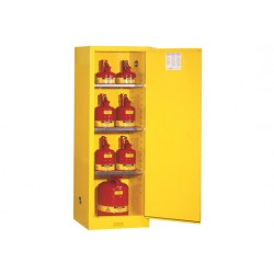 Justrite FM Approved Flammable Liquids Cabinet Self Closing 1651x591mm 8922201