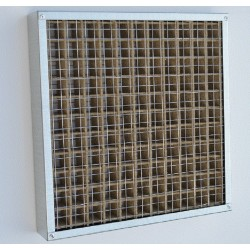 Intumescent Fire Grille 300x100mm to 350x350mm wide
