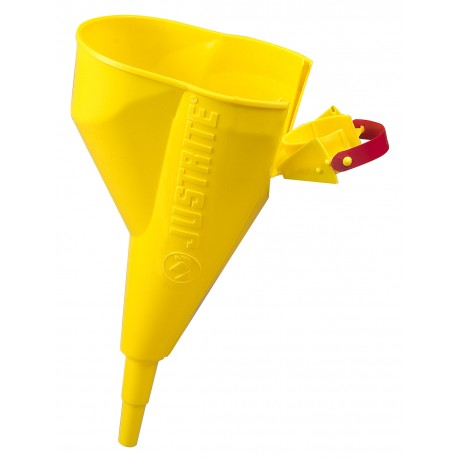 Plastic funnel for use with flammable liquid safety cans type 1- 11202Y