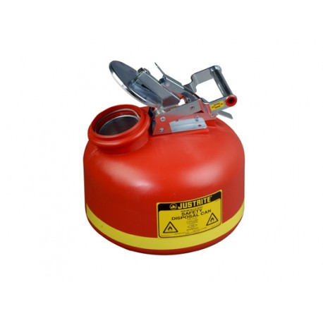 Justrite Liquid Disposal Safety Can 7.5 Litre 14762