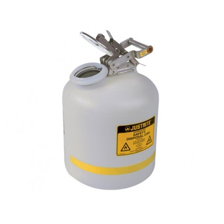 Justrite Safety Can for liquid disposal - Justrite - 19L-12754