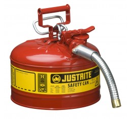 Flammable Liquid Safety Can - Justrite Type 2 - 9.5  litre -7225130Z