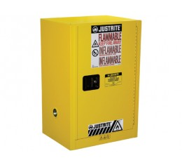 Justrite FM Approved Flammable Liquids Cabinet 889mm H -8912001