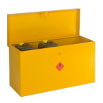 Flammable Liquids Storage Bin - Large with Flat Lid