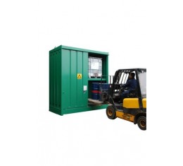 1 hour Fire Rated Fork Lift Access Flammable liquid Store/Container -FRSTOREFLT16