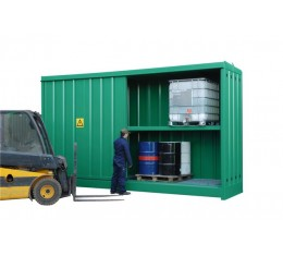 1 hour Fire Rated Fork Lift Access Large Flammable liquid Store/Container