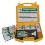 Body Fluid Disposal Kit for Bulk Spillages from St John Ambulance