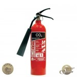 2kg CO2 Fire Extinguisher - Premium Range