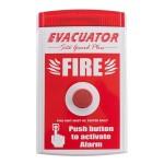 Evacuator Site Guard - Push Button Alarm.