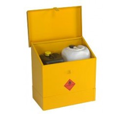 Flammable Liquids Storage Bin - Small with Sloping Lid