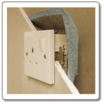Fire Stopping Intumescent Fire & Acoustic Socket Box Cover