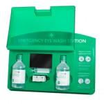Emergency eye wash station from St Johns Ambulance