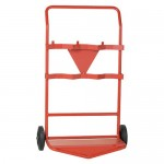 Triple Fire Extinguisher Trolley